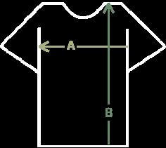 Розмірна сітка футболок